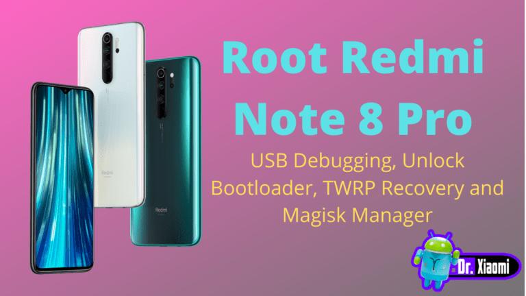 Root Redmi Note 8 Pro