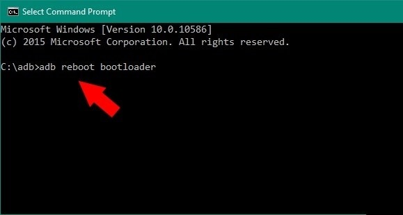 adb reboot bootloader flash twrp on xiaomi
