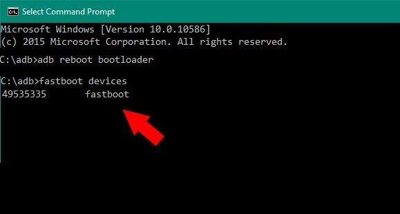 fastboot devices install twrp on xiaomi devices