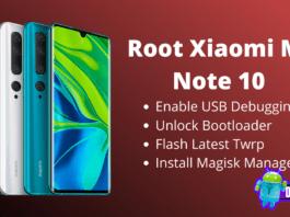 Root Xiaomi Mi Note 10