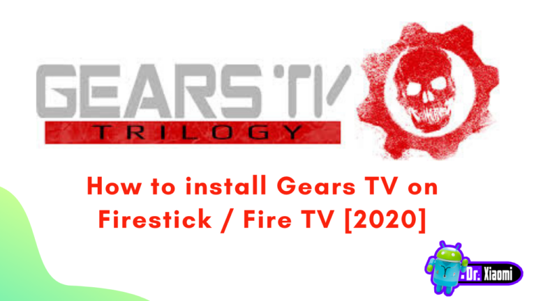 How to install Gears TV on Firestick / Fire TV [2020]