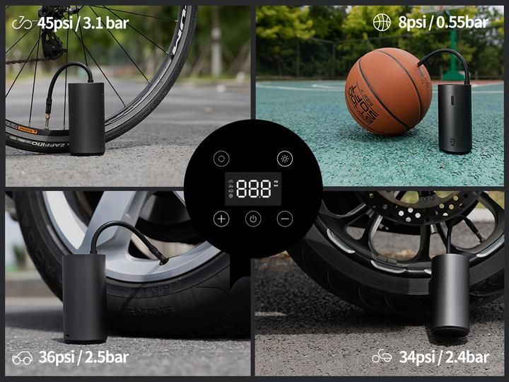 Roidmi, brand known by Xiaomi launches its own tire and balloon inflator