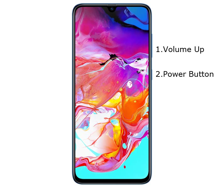Samsung Galaxy A70 Recovery Mode Boot