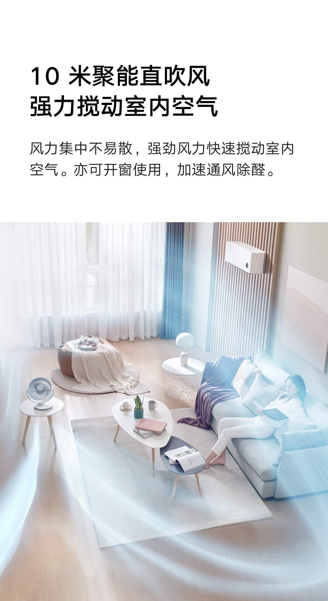 Xiaomi Mijia fan, Xiaomi's first air circulating fan