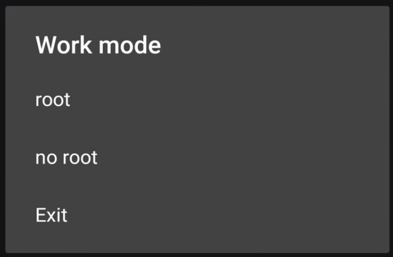 12. Choose Work Mode For No Root in Game Guardian APP