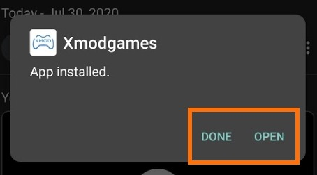 Xboxgames installed