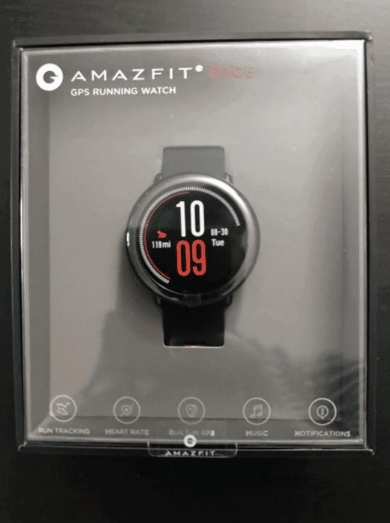 amazfit pace unboxing