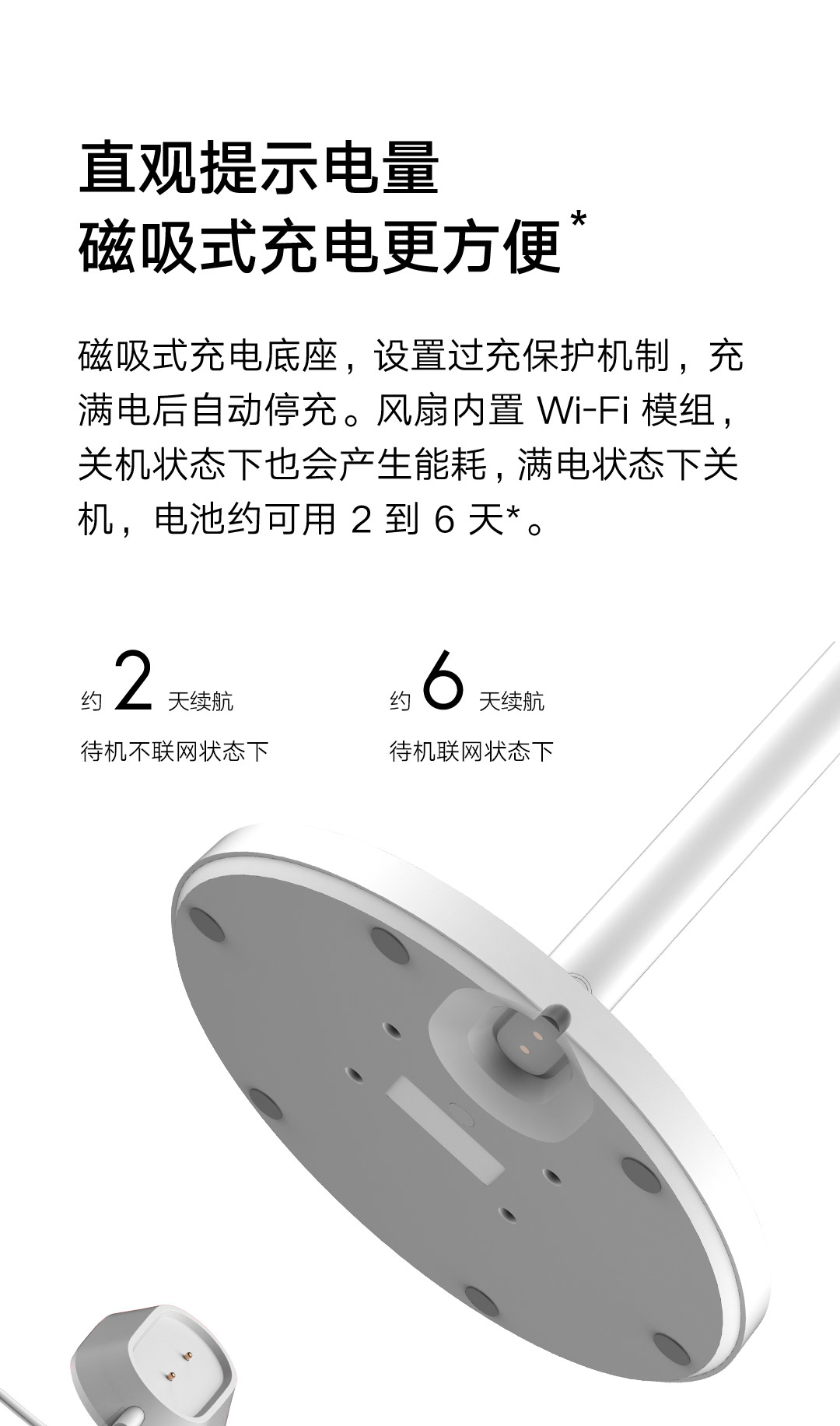 Xiaomi Mijia DC Fan Battery Edition, the new Xiaomi fan now cable free