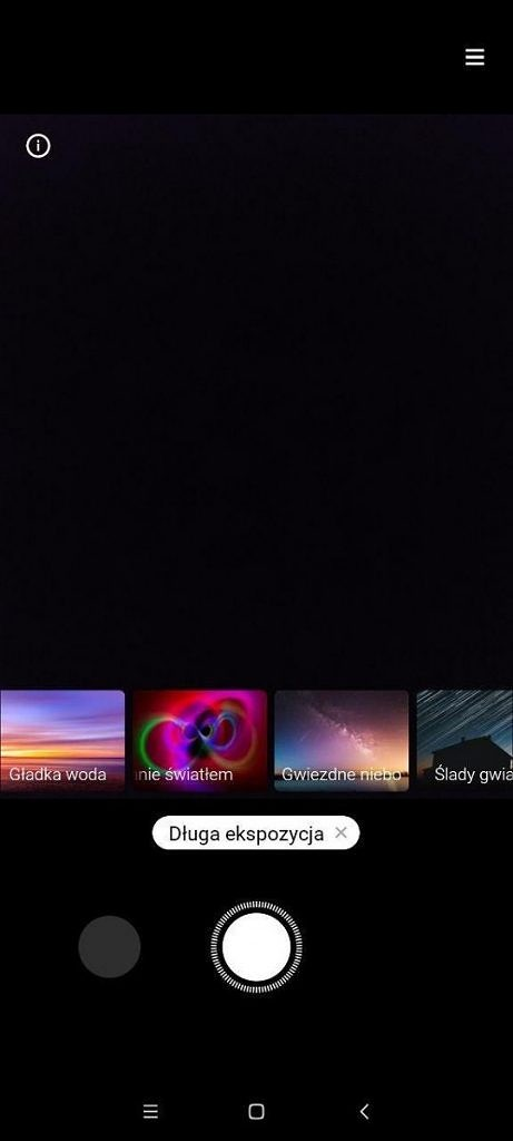 MIUI 12 long exposure camera starry night