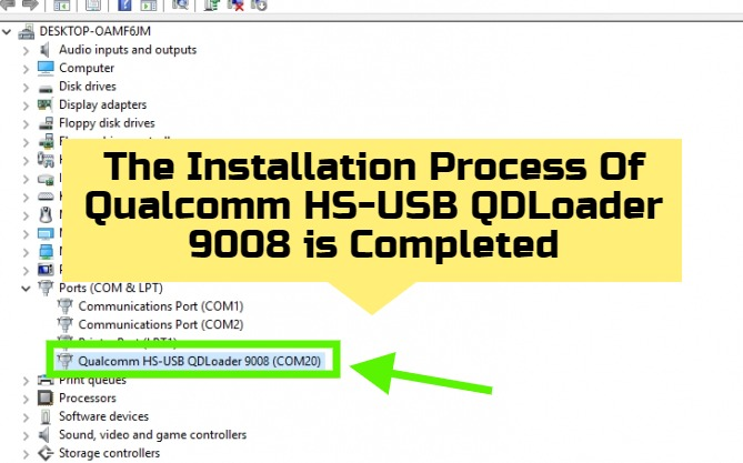 Qualcomm HS-USB QDLoader 9008 Driver 7