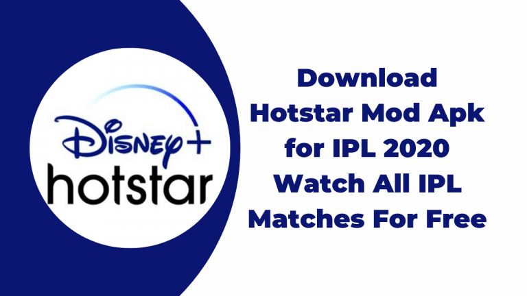 Download Hotstar Mod Apk for IPL 2020 _ Watch All IPL Matches For Free