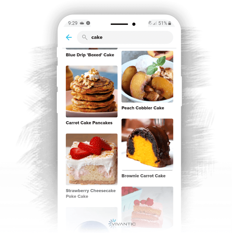 Cooking recipes apps