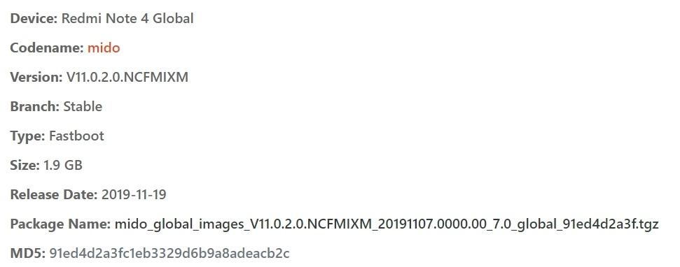 redmi note 4 flash file tgz