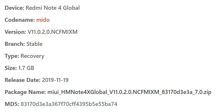 redmi note 4 flash file zip