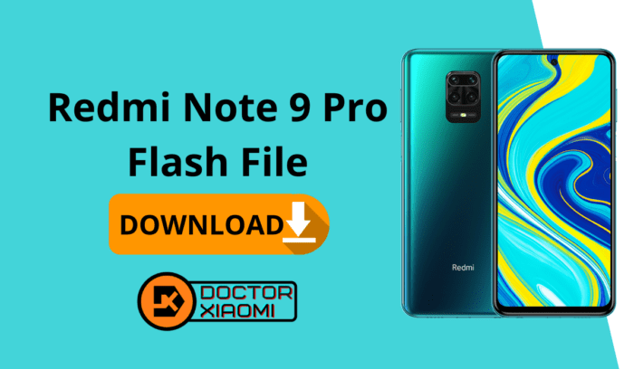 Download Redmi Note 9 Pro Flash File.