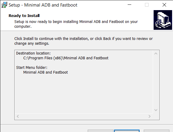 Install ADB and Fastboot 4